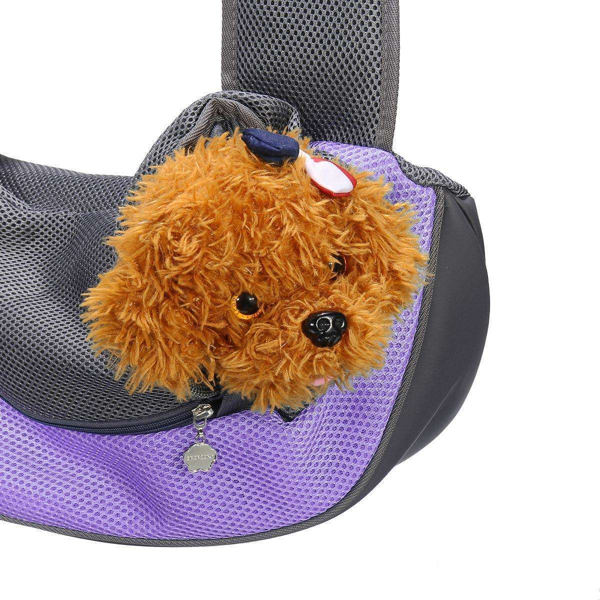 Dog Puppy Cat Portable Breathable Hiking Travel Pet Carrier Bag-Pet Carrier Bag