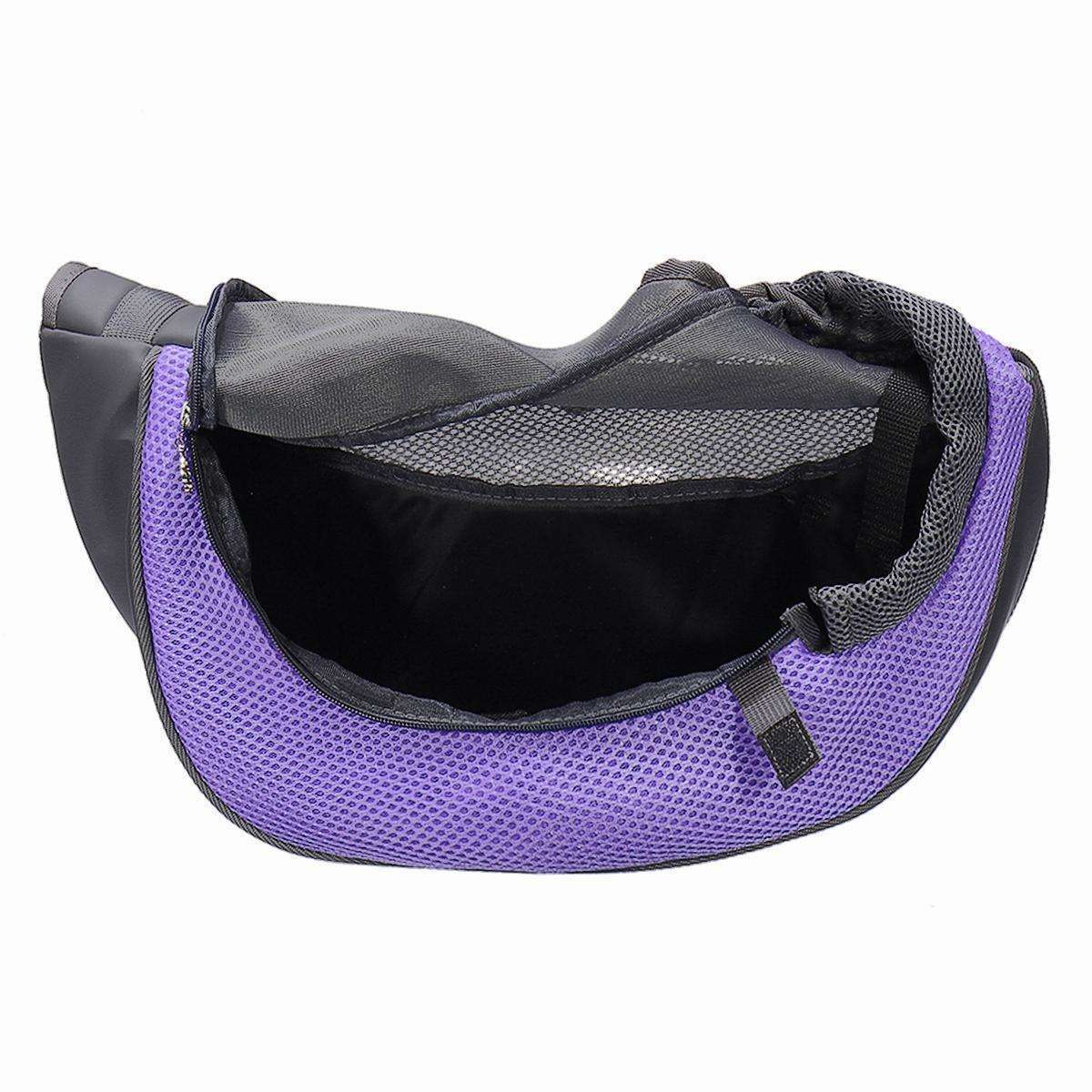 LARNELEC :Dog Puppy Cat Portable Breathable Hiking Travel Pet Carrier Bag,L,Pet Carrier Bag