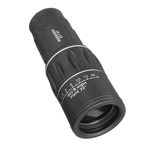 Zoomview HD 16X Monocular Armoured  Waterproof Telescope Day Night Vision Optic Lens - LARNELEC