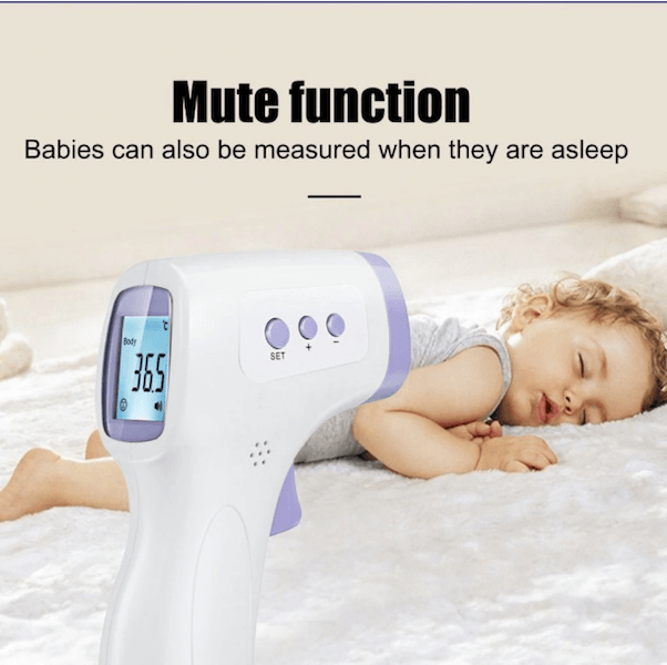 No Contact Infrared Thermometer -Multifunction  for Adults, Kids & Objects-Infrared Thermometer