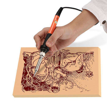 LARNELEC :Boozu-Wood Burning Pyrography Kit,US,