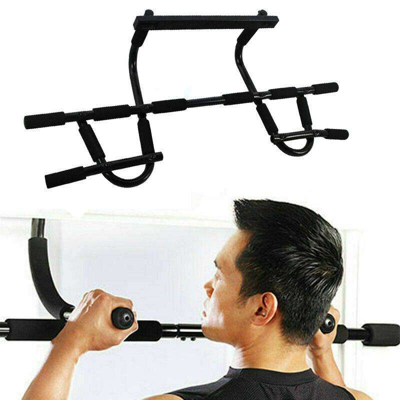 Multi Purpose Pull-Up Sit-Up Bar Home Gym Fitness Push-Ups Stands Exercise Tools - LARNELEC