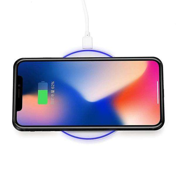 Qi Wireless Charger 10W Fast Charging Pad Dock For Samsung Note 9 for iPhone XS-Electronic Accessories & Gadgets