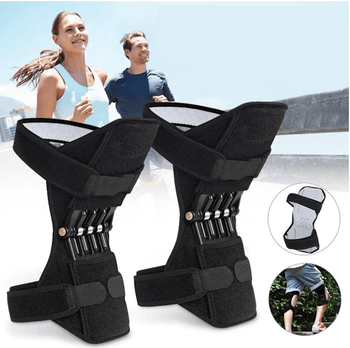 Pair Rebound Spring Force Knee Joint Support - LARNELEC