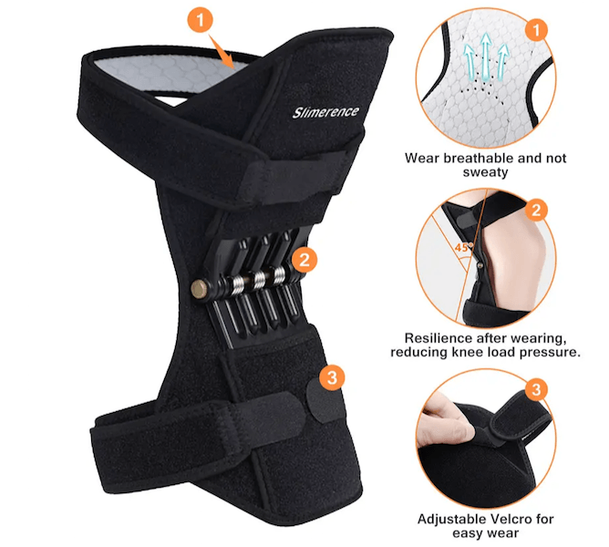 Rebound Spring Force Knee Brace Joint Support-Support Knee Pad