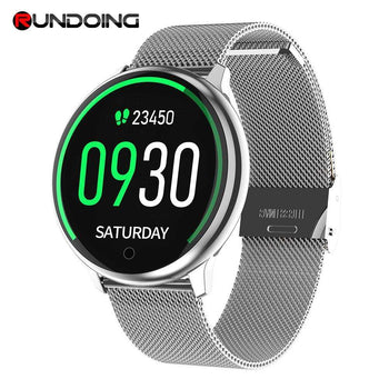 RUNDOING R7 Sport Unisex Waterproof Smartwatch For Android And iOS - LARNELEC