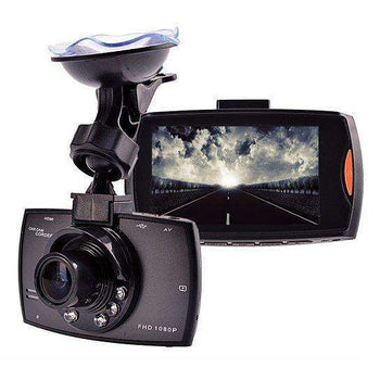 SafetyFirst HD 1080p Car Dash CamCorder with Night Vision-Dash Cam