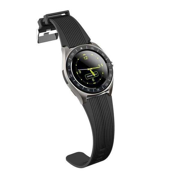 V5 1.54in Full Touch Screen Support Sim Card BT Call SM Watch Fitness Bracelet-Smart Devices & Accessories