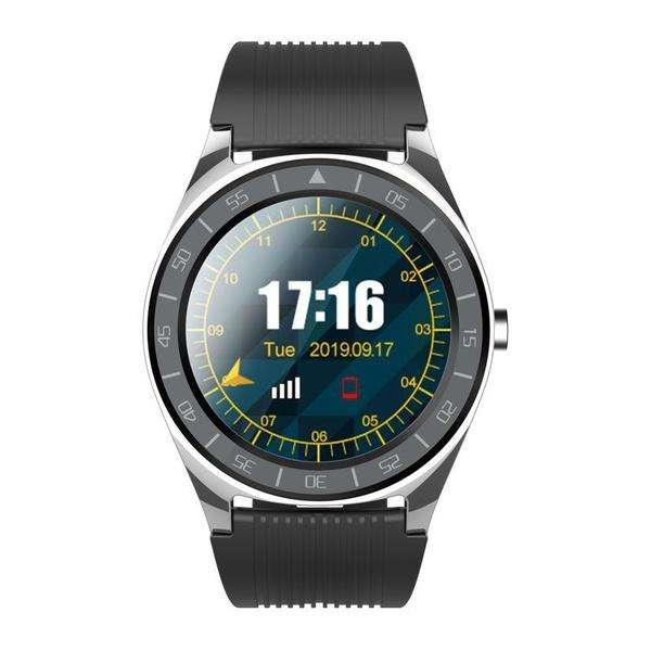 LARNELEC :V5 1.54in Full Touch Screen Support Sim Card BT Call SM Watch Fitness Bracelet,Grey,Smart Devices & Accessories