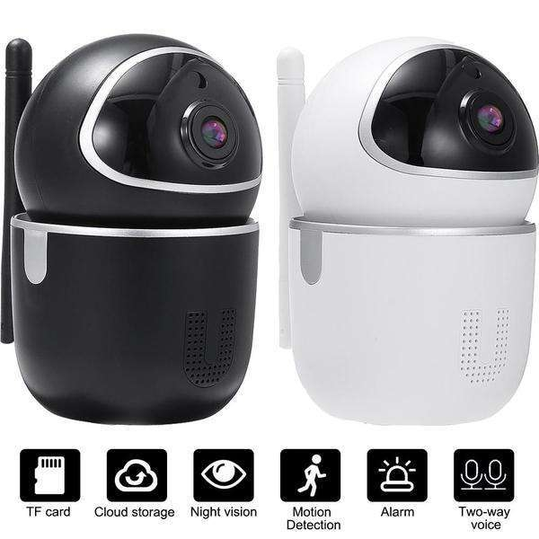 WIFI Wireless HD 1080P IP Camera Night Vision Motion Sensor PTZ Two Way Intercom Security Camera-Smart Devices & Accessories