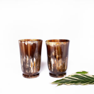 Footed Whiskey Tumbler Set