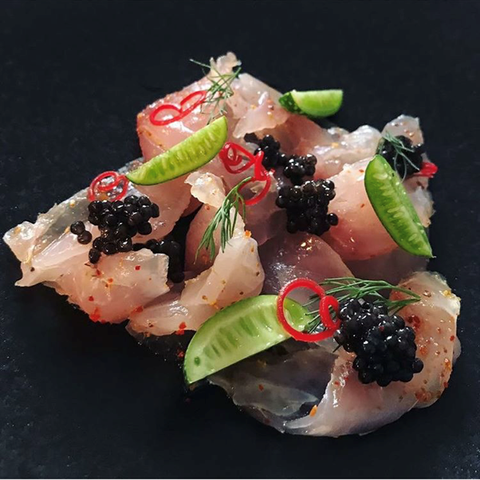 Caviar & Red Snapper