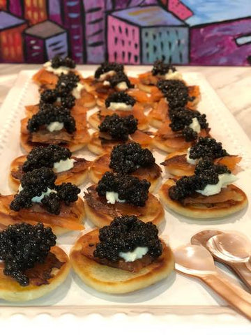 Made up blinis