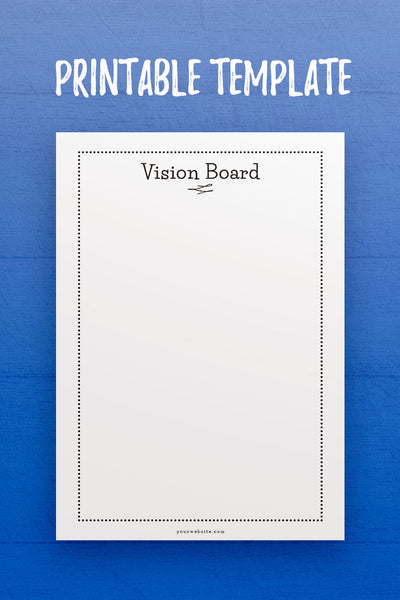 GP: Vision Board Template
