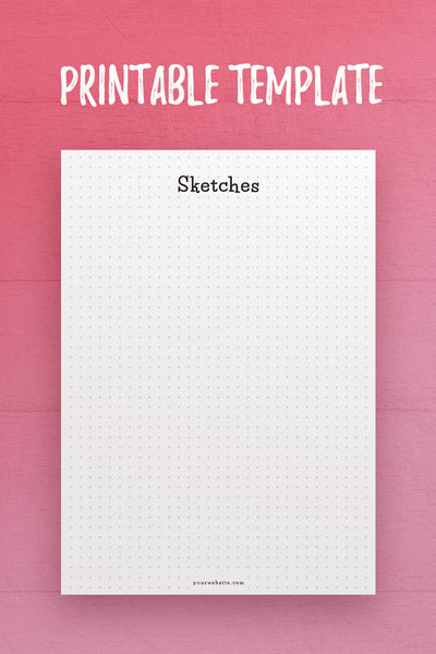 CSB: Sketches InDesign Template