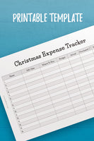 MOL: Christmas Expense Tracker InDesign Template