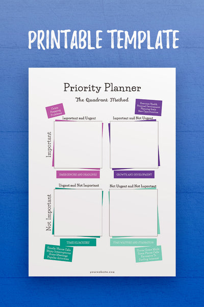 GP: Priority Planner Template