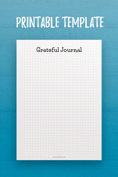 MOL: Grateful Journal InDesign Template