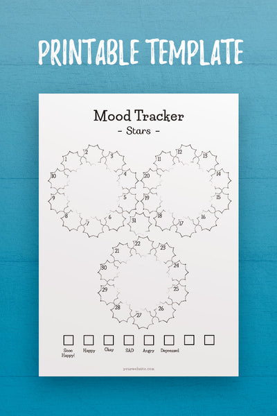 MOL: Mood Tracker InDesign Template
