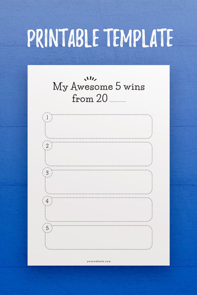 GP: Awesome 5 Wins Template