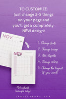 2021-2023 Calendar InDesign Template: Clean & Simple