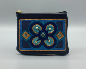 "ZIP COIN POUCH - ""BESE SAKA"" (Affluence, Power, Abundance & Togetherness)"