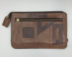 "CLASSIC DESIGNER CLUTCH - ""KUBA WARRIOR 2"""