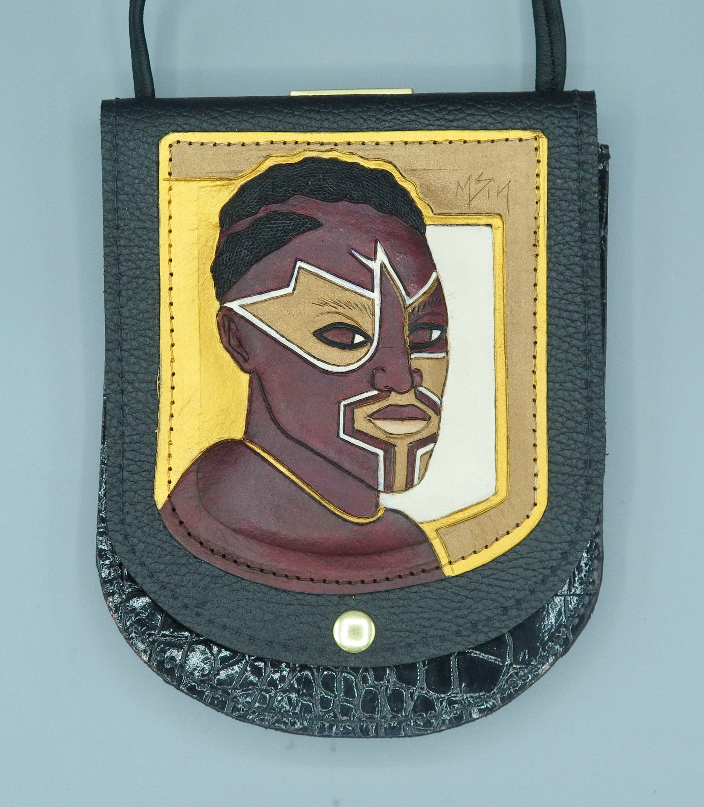 "NU POUCH - ""Nubian Warrior 1"""