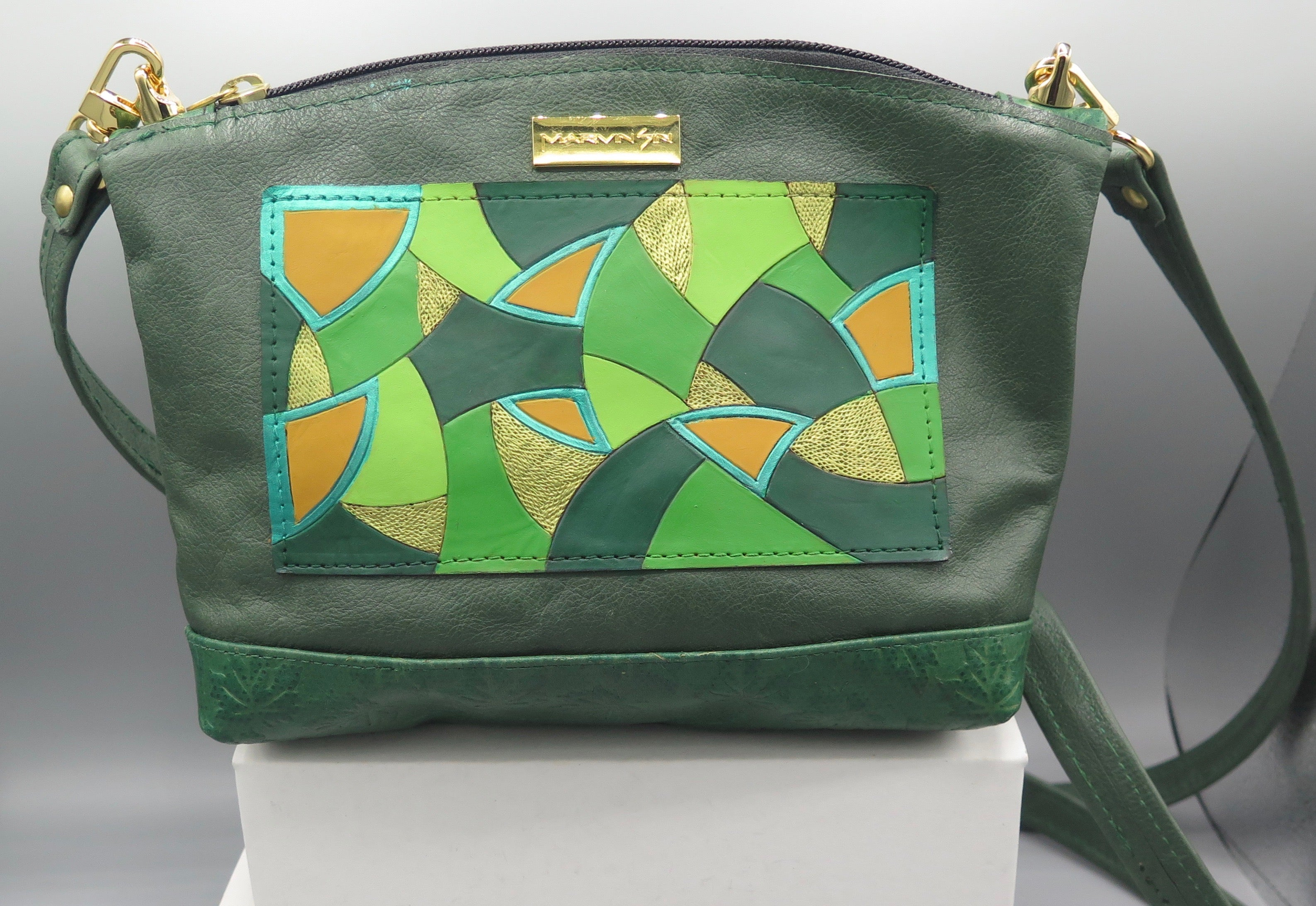 "BABY BED-STUY - ""AFRIKAN ABSTRACTION -GREEN MOSAIC"""