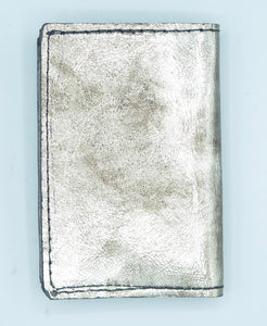 "BUSINESS CARD CASE - ""LOC SOPHISTICATE - SILVER"""
