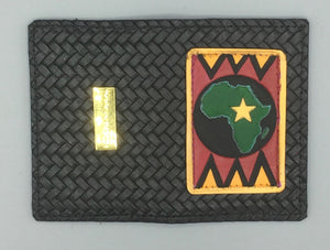 "BUSINESS CARD CASE - ""AFRICA ONE"""