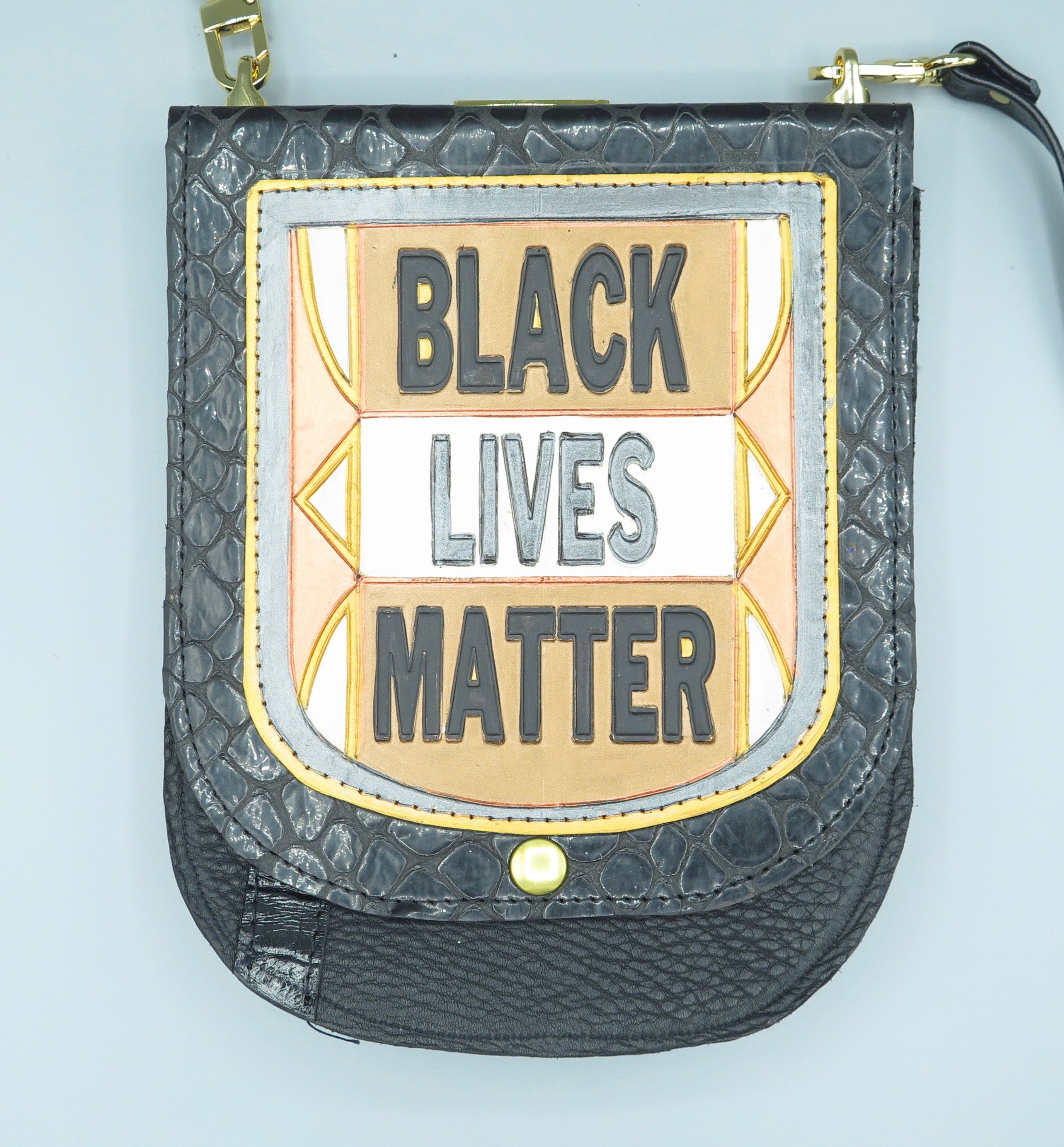 "NU2 POUCH - ""BLACK LIVES MATTER #1"""