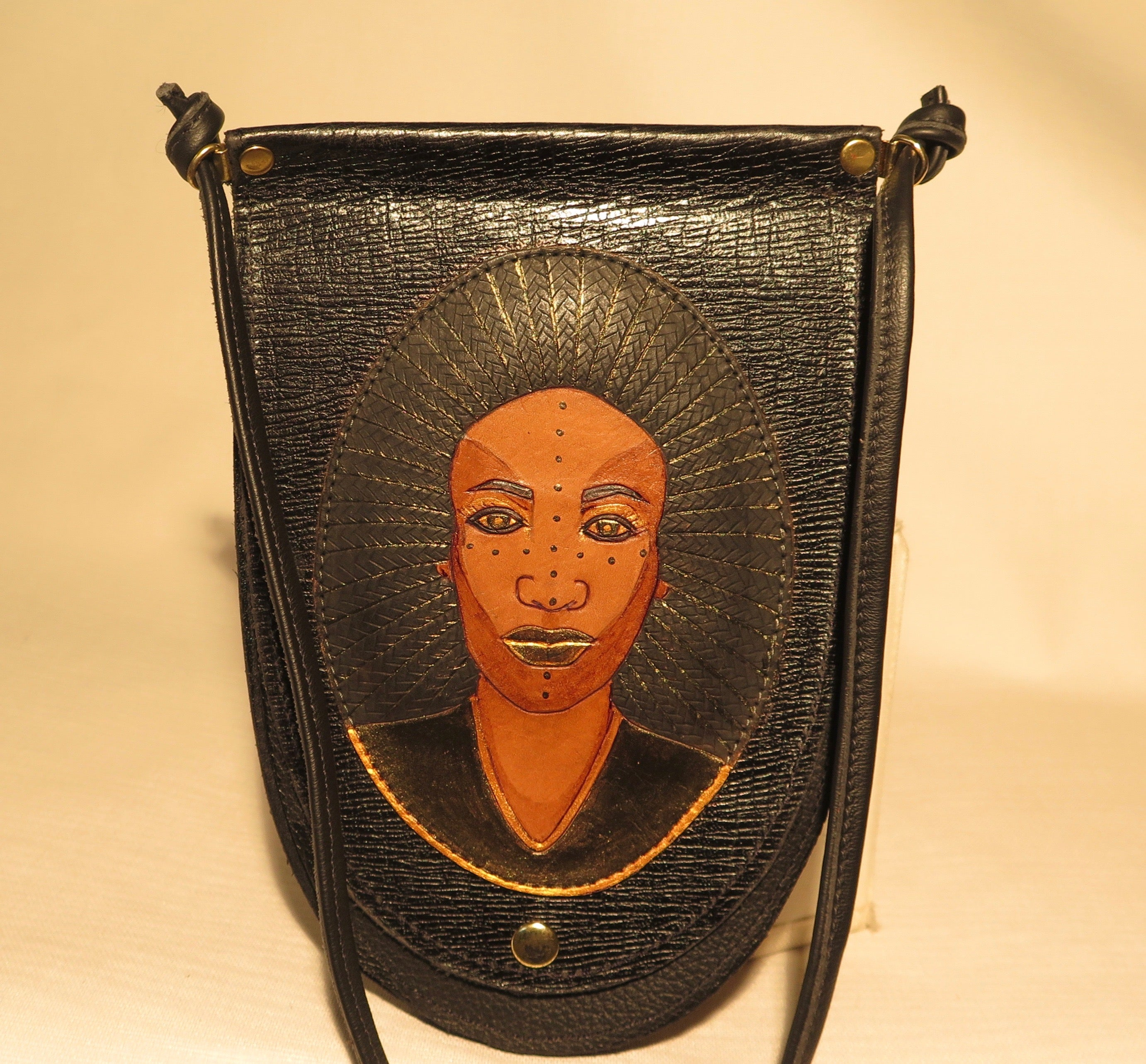 "HEATHER POUCH - ""AFRIKAN RADIANCE"""