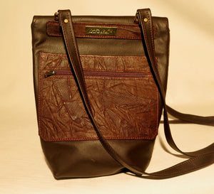"SMALL CROSS-BODY BUCKET BAG - ""BURKINA SISTER"""