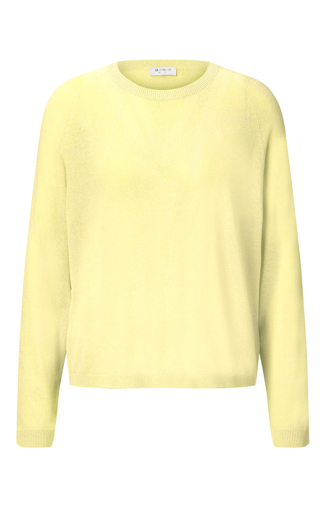 Rich & Royal Crew Neck Seamless Light Yellow