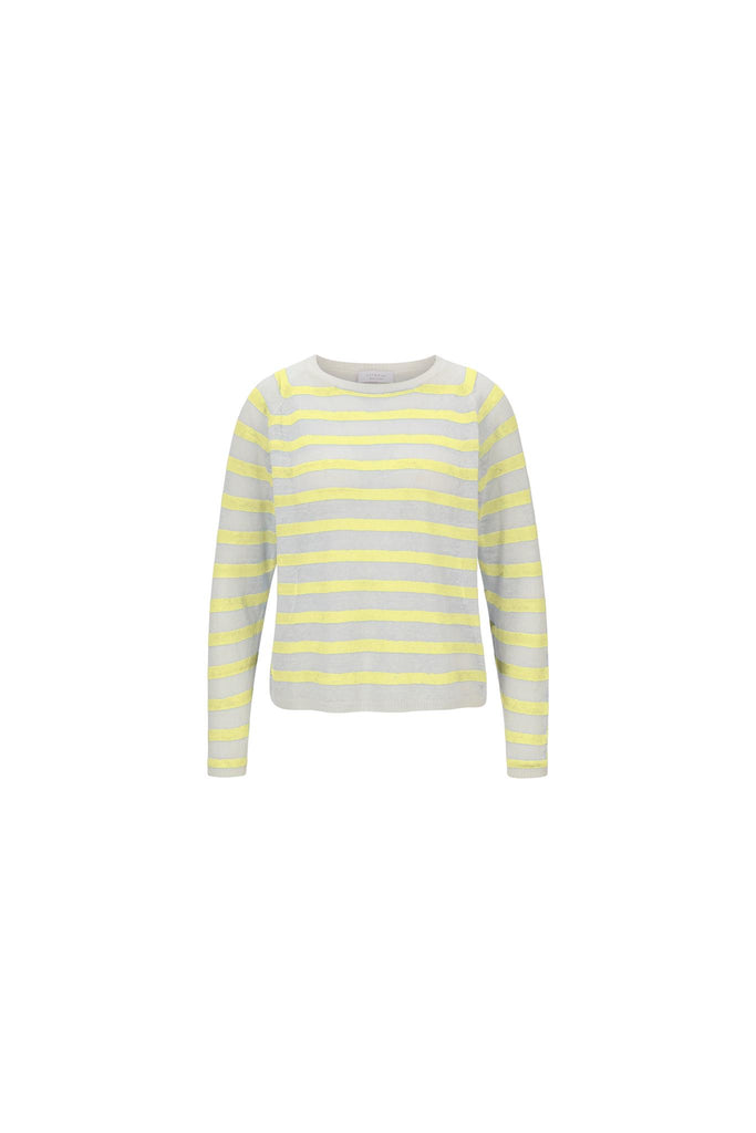 Rich& Royal Crew Neck 2102-160 col.316 Lemonade