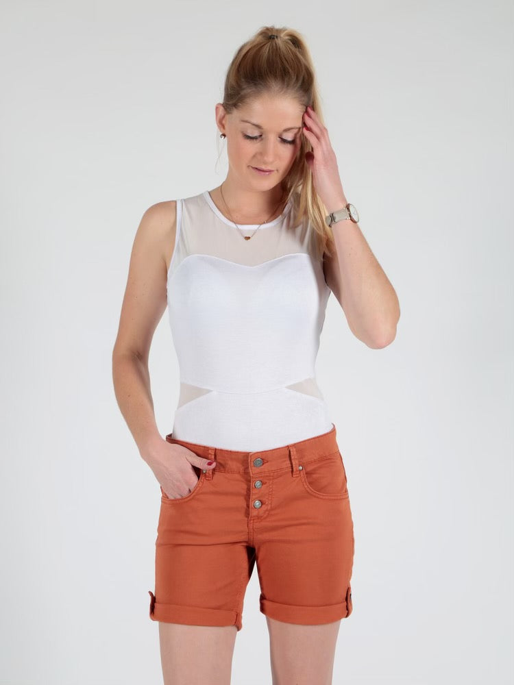 Miracle Of Denim, Ulla Shorts Bombay Brown