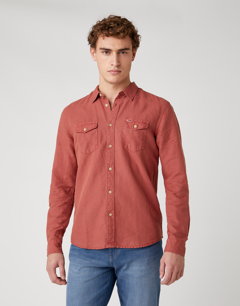 Wrangler W5A5LOXER Barn Red