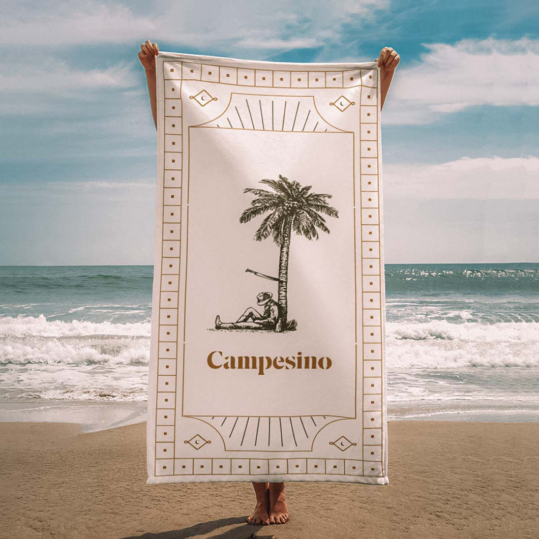 Campesino Beach Towel