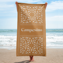 Load image into Gallery viewer, Campesino Feather Beach Towel