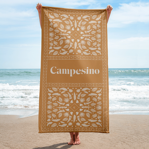 Campesino Feather Beach Towel