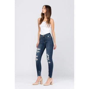 Judy Blue High Rise Cropped Jean - Style 82139