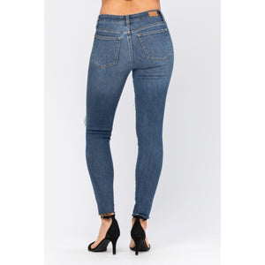 Judy Blue High Rise Destroyed Jeans - Style 8877 - Online Exclusive
