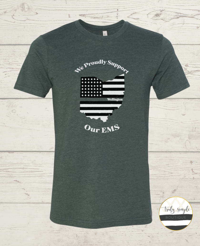 *Fundraiser* We Proudly Support Our EMS Tee