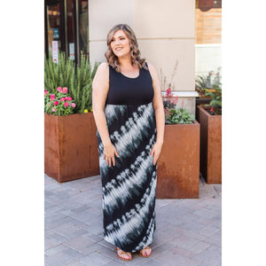Tie Dye Tank Maxi Dress - Online Exclusive