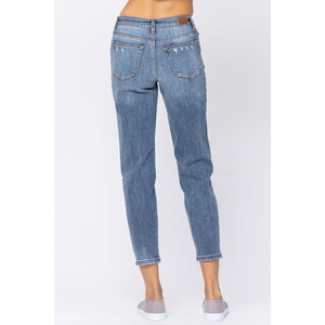 Judy Blue Distressed Slim Fit Jeans - Style 82172
