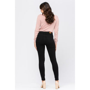 Judy Blue Black Skinny Jeans - Style 8883 - Online Exclusive