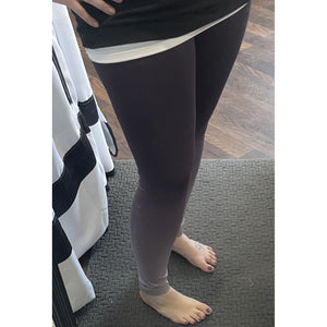 Aubergine Dip Dye Seamless Leggings