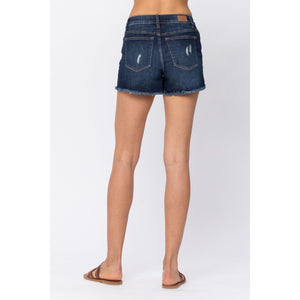 Judy Blue Camo Patch Shorts - Style 150014 - Online Exclusive