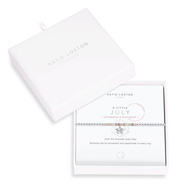 "Katie Loxton ""A Little"" Birthstone Bracelet - July"